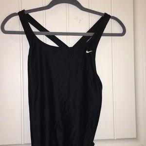 Black Nike swim suit